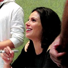 Lana Parrilla and fans