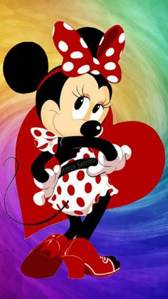 The Disney Minnie pin up star Disney Mickey Mouse, Retro Disney, Mickey Mouse E Amigos, Mickey Mouse And Friends, Minnie Mouse Party, Disney Love, Disney Magic, Disney Art, Wallpaper Do Mickey Mouse