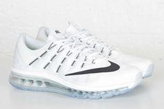 Get Ready For The Spring With The All White Nike Air Max 2016