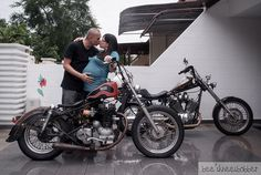 Our baby announcement photo. A baby bump and 2 bikes (take Motorcycle Wedding, Baby Announcement Photos, Baby Bump Photos, Baby Bumps, Our Baby, Joy, Bike, Baby Announcement Pics, Bicycle Kick
