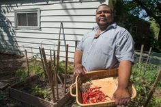 Michael Twitty's mission: To evangelize about the African roots of Southern food. - a historic chef!