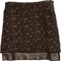 Diane von Furstenberg Elley Skirt ($298) ❤ liked on Polyvore