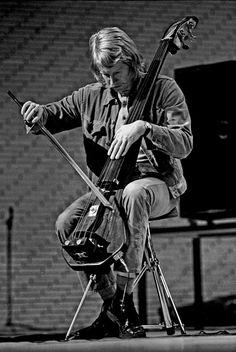 Eberhard Weber, German jazz bassist and composer