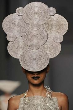 Newspaper Couture - Mary Design Presents Interesting Headgear (GALLERY)