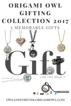 Origami Owl Gifting