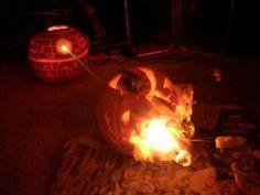Death Pumpkin in action.