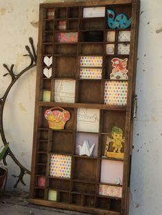 Cajón tipográfico, $250 en http://ofeliafeliz.com.ar