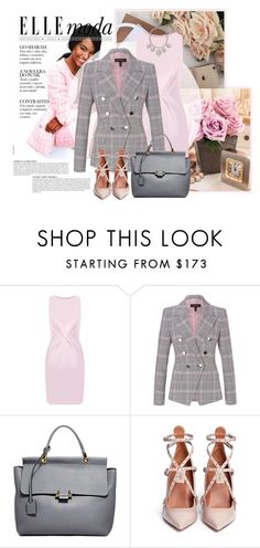 """""""Busy week"""" by tati1984 ❤ liked on Polyvore featuring Anja, Finders Keepers, ESCADA, Lanvin, Valentino and Accessorize"""