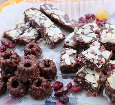 Heavenly cocoa bites and slices #healthy #cocoa #recipe