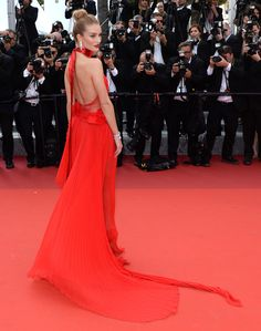 Rosie Huntington-Whiteley at the Cannes Film Festival.