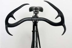 Moniker Cycle Horns Give Your Bicycle a Natural Aesthetic Grace #bicycle #accessories trendhunter.com