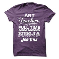 ART TEACHER TSHIRT T Shirts, Hoodies. Check price ==► https://www.sunfrog.com/LifeStyle/ART-TEACHER--TSHIRT-44057031-Guys.html?41382 $21.99