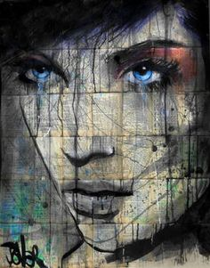 "Saatchi Art Artist Loui Jover; Drawing, ""place"" #art"