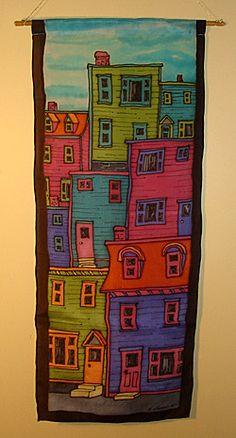 Silk Painting Resist Method Tutorial page 2
