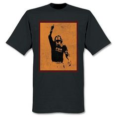 T-Shirt con imágen de Totti - Negro