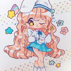 Do you guys have any tips for those that want to develop their own style? Lately i've been getting tons of DMs about new artists wanting to have their unique style, do you guys have advice? Another btw lol Chibi Girl Drawings, Copics, New Artists, Guys, Unique, Drawing Ideas, Fictional Characters, Markers, Instagram