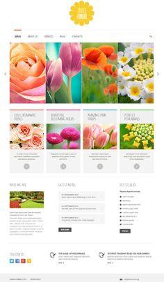 https://www.behance.net/gallery/10194939/Garden-Flowers-Joomla-Template-45708