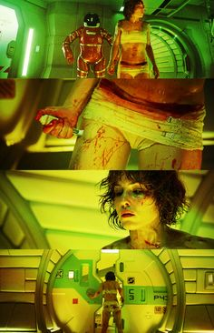 """ Prometheus: Elizabeth Shaw Creative Challenge Theme Scifi or Fantasy "" Sci Fi Horror, Horror Art, Alien Avatar, Prometheus Movie, Noomi Rapace, Alien Covenant, Dystopian Future, Light Film, Aliens Movie"
