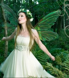 DIY tutorial: fairy wings made from nylons and wire hangers.