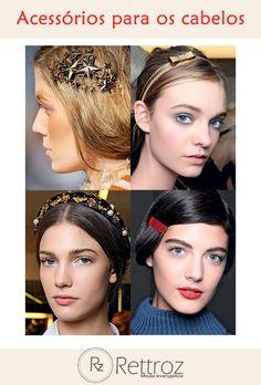 Fique por dentro das últimas tendências de acessórios para cabelos!