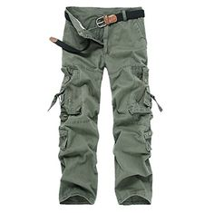 Cheap trouser belt, Buy Quality trousers elastic directly from China trousers sport Suppliers: Plus Size 40 Hot Sale Mens Cargo Pants Classic Solid Color Multi-Pocket Loose Overalls Classic Cotton Long Casual Trousers Camouflage Cargo Pants, Military Camouflage, Army Camo, Cargo Pants Men, Khaki Pants, Mens Cargo, Military Pants, Overalls, Trousers