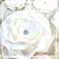 Medium Small Paper Flowers Wedding Decor 3D #weddingceremony #birthdaydecorations #babyshowerbackdrop #whitesilverdecor #whitepaperroses #3dwallart #weddingbackdrop #bridalshowerdecor #namesignflowers #nurserydecorgirl #nurserywallart #paperflowerset #smallpaperflowers #babyshower #backdrop #paperflowers #birthdaydecor