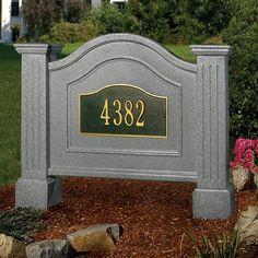 Buy MAYNE 5820-G Nantucket Address Sign     Riverbend Home