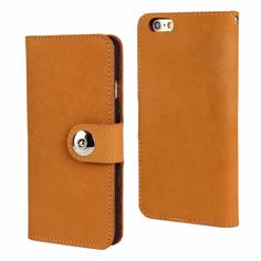 >> Click to Buy << Newest Grinding Head Layer Cowhide Wallet Leather Case for Apple Iphone6 Plus 5.5inch Button Purse Pouch Phone Cases #Affiliate