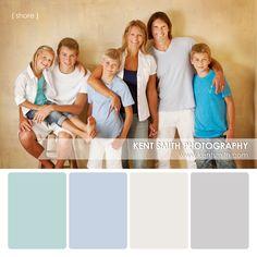 Portrait Palettes {shore} #photography #clothing #colors #portraits #kentsmithphotography