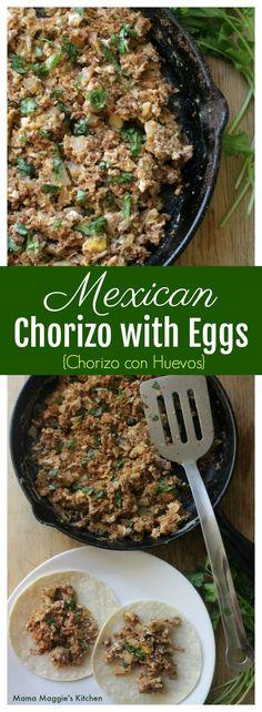 Chorizo Con Huevos -