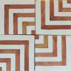 Tabarka Studio - Zaha 10 in pinot Spanish Style Bathrooms, Spanish Style Homes, Spanish Bathroom, Spanish Kitchen, Floor Patterns, Tile Patterns, Bathroom Styling, Kitchen Styling, Br House