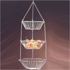 "3 Tier Hanging Basket (Chrome) (11.8""H x 10.8""W x 9.8""D) by Creative Home, http://www.amazon.com/dp/B0002HSFTY/ref=cm_sw_r_pi_dp_r88mrb04F6F49"