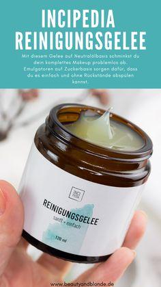 Sanfte, reizfreie Reinigung mit dem Incipedia Reinigungsgelee. #reizfrei #reizarm #skincare #reinigung #cleanser #naturkosmetik #incipedia #startup #