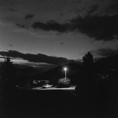 "Robert Adams, ""Summer Nights, Walking"" (2009), a follow-up photobook to the series ""Summer Nights"" published thirty years earlier. In the new edition, the artist has re-ordered the photographs and added many new ones."