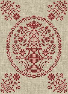 A Georgian Bouquet - Cross Stitch Pattern - Instant Download PDF Booklet
