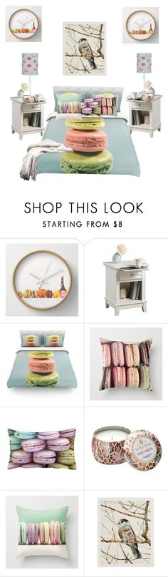 """""""Macaroon bedroom"""" by mqweber ❤ liked on Polyvore featuring interior, interiors, interior design, home, home decor, interior decorating, Home Styles, Aime, Voluspa and bedroom Interior Decorating, Interior Design, Macaroons, Decorative Boxes, Interiors, Bedroom, House Styles, Polyvore, Shopping"""