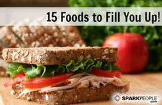 15 Fiber-Packed Foods to Fill You Up | via @SparkPeople