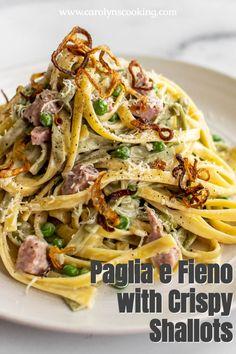 Pasta Dinner Recipes, Easy Pasta Recipes, Pizza Recipes, Delicious Recipes, Easy Meals, Italian Pasta Dishes, Slow Cooker Pasta, Fresh Pasta