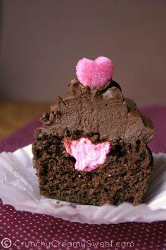 Vegan Chocolate Valentine's Day Cupcakes For Two  #MoissaniteCandyBox