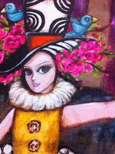 STUDIO LIZZI ARTE: VENDIDO circo,maroma y teatro