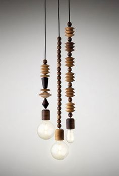 Bright,Beads,3,cluster,Bright beads, pendant light, interior, timber light, fsc certified, light, africa