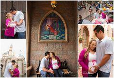 disneyland maternity photos - Google Search