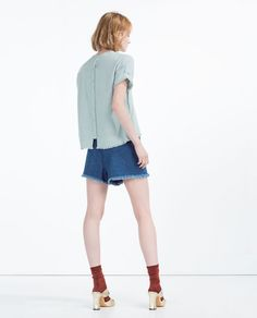 TOP WITH BUTTONS AT THE BACK-View All-TOPS-WOMAN | ZARA United States