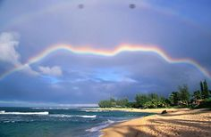 """I keep seeing this all over the place as """"Go home rainbow, you're drunk."""" -- Funny caption; altered photo. See original here: http://pinterest.com/pin/175218241725208085/"""