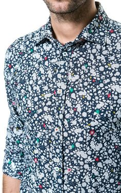 Image 4 of FLORAL PRINT SHIRT from Zara