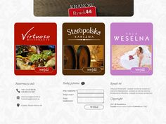 Rynek44 - restaurant website design « Krakweb.pl »