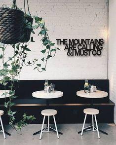 White cafe seating restaurant design Ideas for 2019 Cafe Seating, Restaurant Seating, Floor Seating, Restaurant Design, Seating Plans, Office Seating, Restaurant Ideas, Coffee Shop Design, Cafe Design