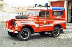 Bombeiros V. Parede Land Rover 88 Regular Serie III VOPE 01 1978