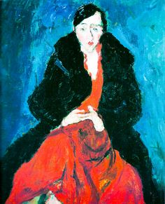 """Madeleine Castaing"" by Chaim Soutine 1929"