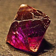 Octahedron Purple Fluorite Crystal by Orbital Joe, via Flickr